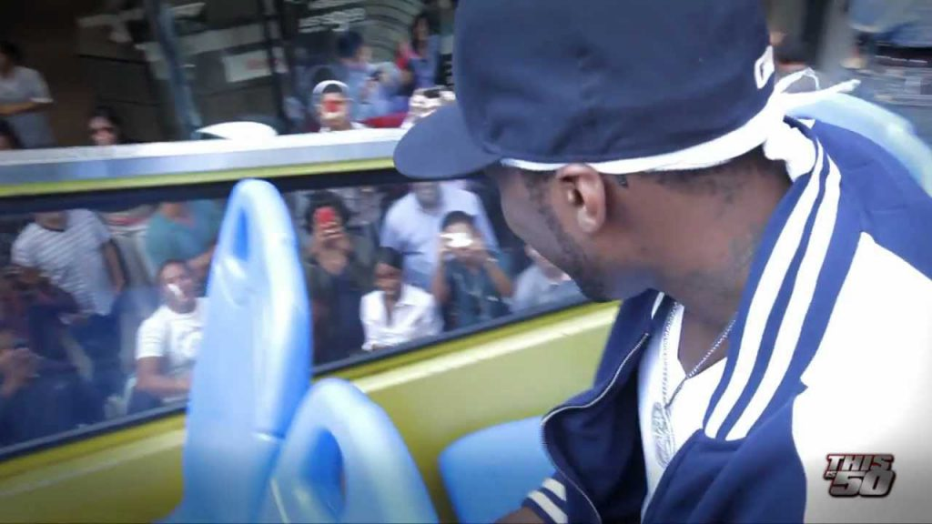 50 Cent Launches Street King in Times Square | 50 Cent Music