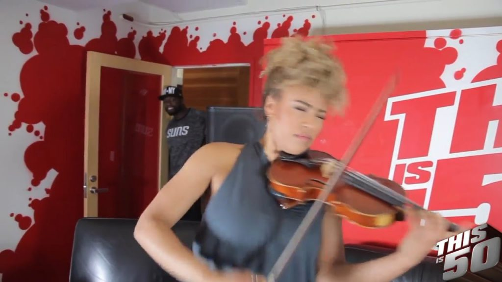 Ezinma Performs 50 Cent's 'In Da Club'; Working W/ Beyonce & Stevie Wonder; Love For The Violin