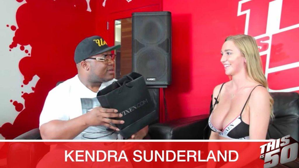 Kendra Sunderland Gives Jack A Lap Dance; Speaks on Open Relationships; Black Men; Power