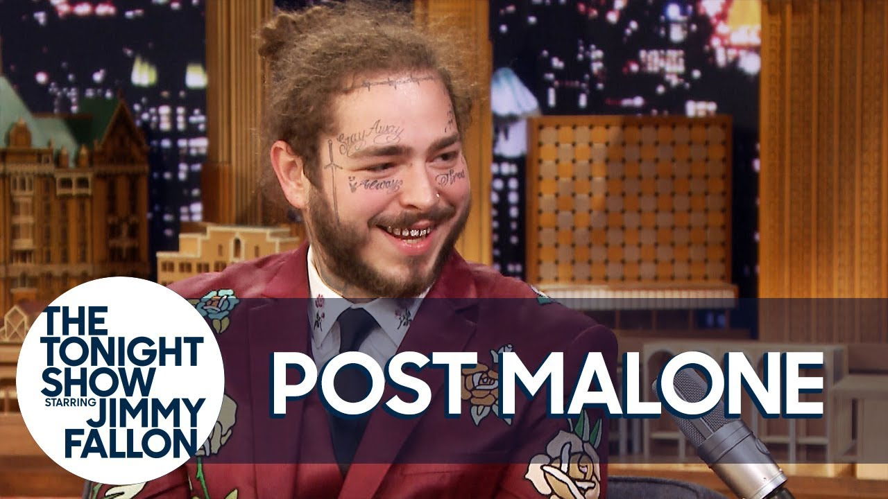 Post Malone Debuts His Song from Spider-Man: Into the Spider